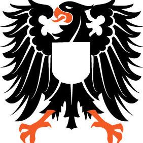 Heraldic Eagle Vector Image - Free vector #210109