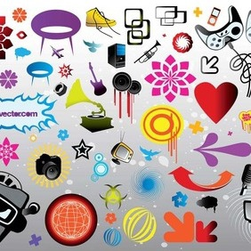 Download Vector Elements - Free vector #210249