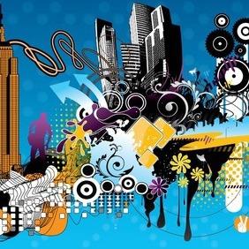 Urban Vectors - vector gratuit #210329