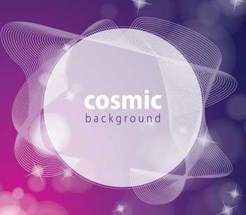 Cosmic Background - Free vector #210379