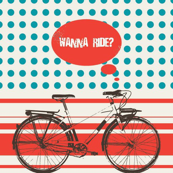 Wanna Ride? - Free vector #210729