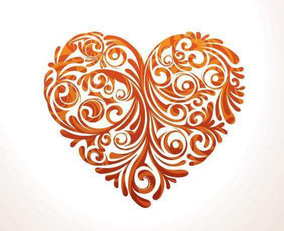 coração floral - Free vector #210819