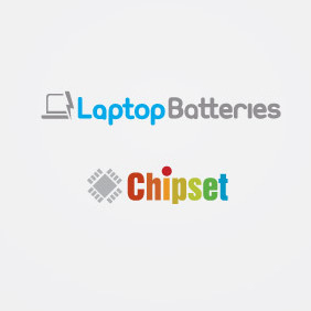 Laptop Batteries And Chipset Logo - бесплатный vector #210839