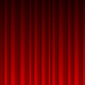 Red Curtain Vector - Free vector #211119