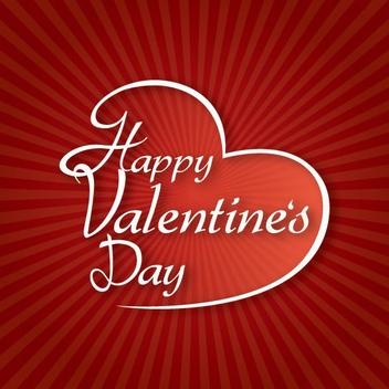Valentine Typography - vector gratuit(e) #211219