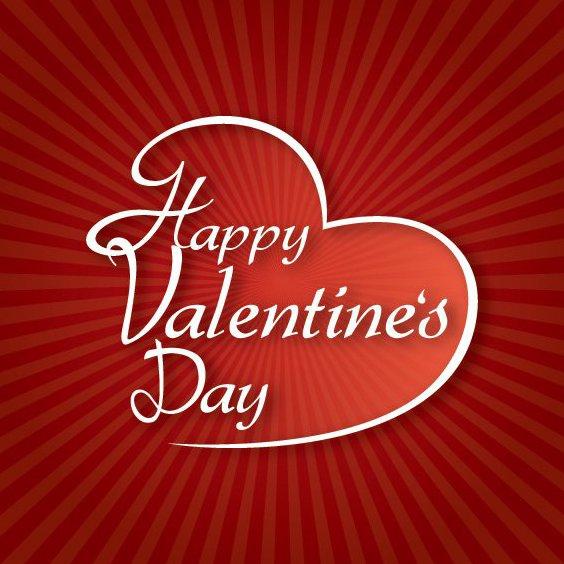 Typographie de la Saint-Valentin - vector gratuit #211219