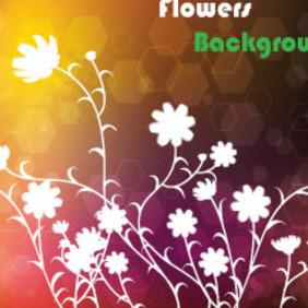 Darko Brown Floral Vector Art - Free vector #211729