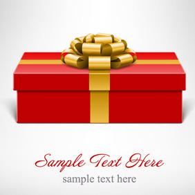 Vector Present Box - vector gratuit #211979