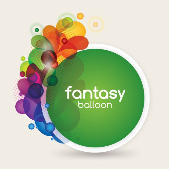 Fantasy Balloon - Free vector #212169