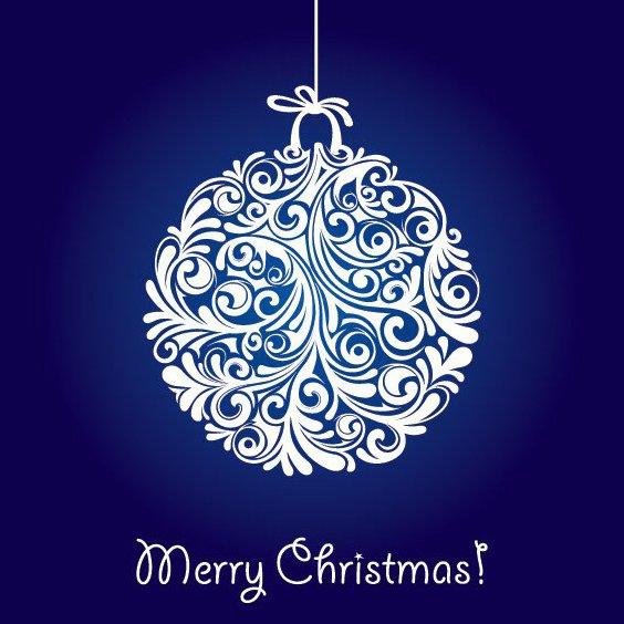 boule de Noël - vector gratuit #212179