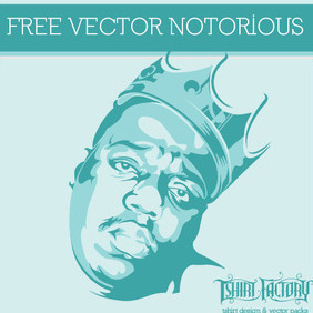 Notorius BIG - Free vector #212199