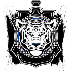 The Tiger - vector #212639 gratis
