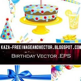 Birthday Free Vector - Free vector #213109