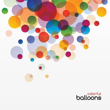 Colorful Balloons - vector gratuit #213169