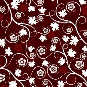 Dark Floral Background - vector gratuit(e) #213189