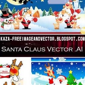 Santa Claus Free Vector - Free vector #213209
