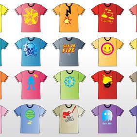 T-Shirts Vector - Free vector #213469