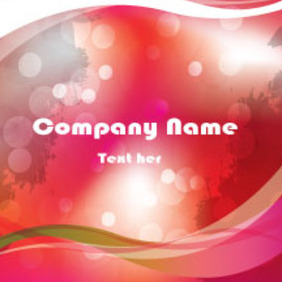 Grungy Company Card Free Vector - Free vector #213559