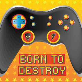 Game Console - vector gratuit #213619