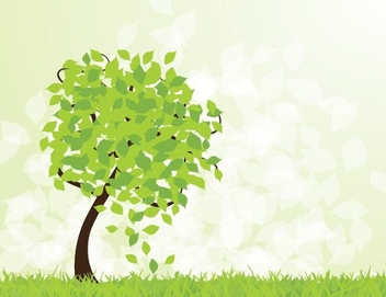 Spring is Here - Free vector #213639