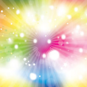 Abstract Colored One Vector Background - Free vector #214099