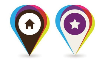 Mapping Places - vector #214189 gratis