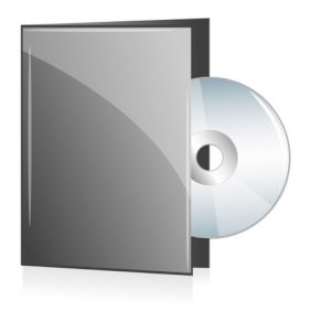 Disc In Cover - vector gratuit #214399