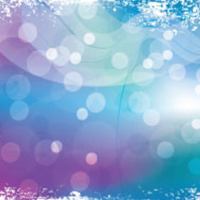 Abstract Grungy Blue Purpled Graphic - Free vector #214429