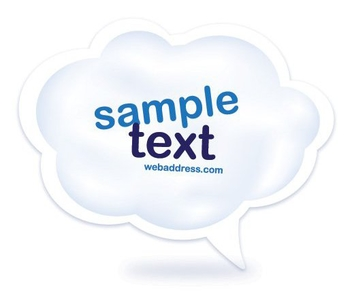 Cloud Comment - vector #214659 gratis