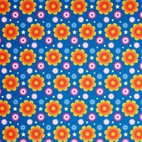 A Vibrant Summer Seamless Vector And Photoshop Pattern - vector #214819 gratis
