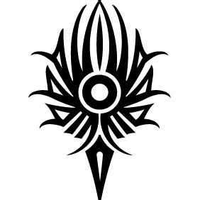 Tribal Torch Vector Image - Free vector #215049