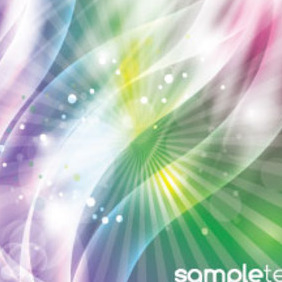 Coloreful Background With Transparent Glowing Design - Kostenloses vector #215129