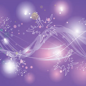 Colored Lights In Purple Design - Free vector #215219