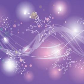 Colored Lights In Purple Design - vector gratuit(e) #215219
