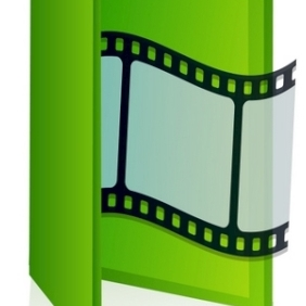 Movie Folder - vector gratuit #215509