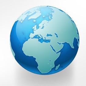 Vector Globe Icon - Free vector #215939