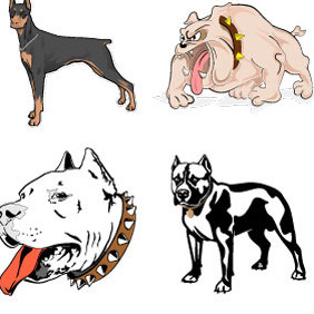 Dogs Vector Set - Free vector #216119