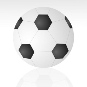 Vector Soccer Ball - Free vector #216159