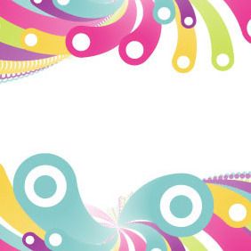 Colorful Bubbles Vector - vector gratuit #216279