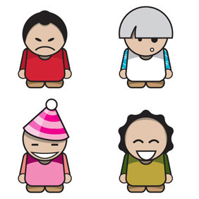 Vector Characters - Free vector #216339