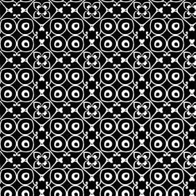 Minimalist Floral Vector Vine Pattern - vector #216439 gratis