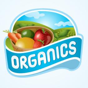 Organics Logo - бесплатный vector #216459