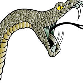 Snake Head Vector - Kostenloses vector #216469