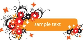 Summerish Banner - Free vector #216559