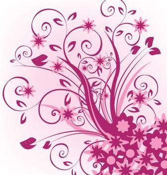 Floral Violet - Free vector #216659