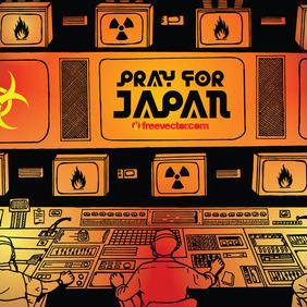 Pray For Japan - Free vector #216719