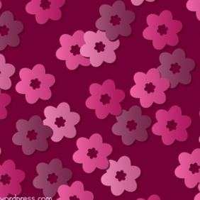 Retro Floral Pattern 3 - Free vector #216969