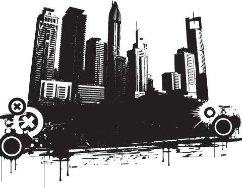 Vector ciudad - vector #217039 gratis