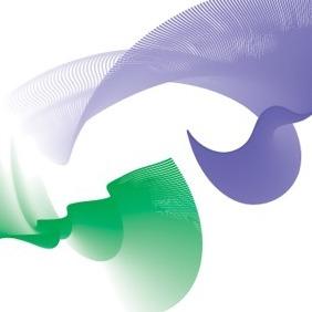 Flowing Curves Vector-7 - Kostenloses vector #217159