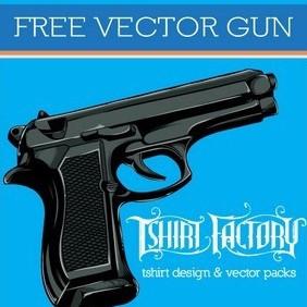 Free Vector Gun - Free vector #217229